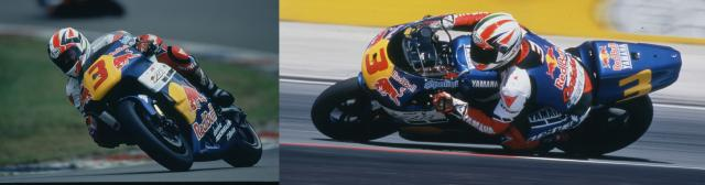 Luca Cadalora on the Red Bull Yamaha 1997